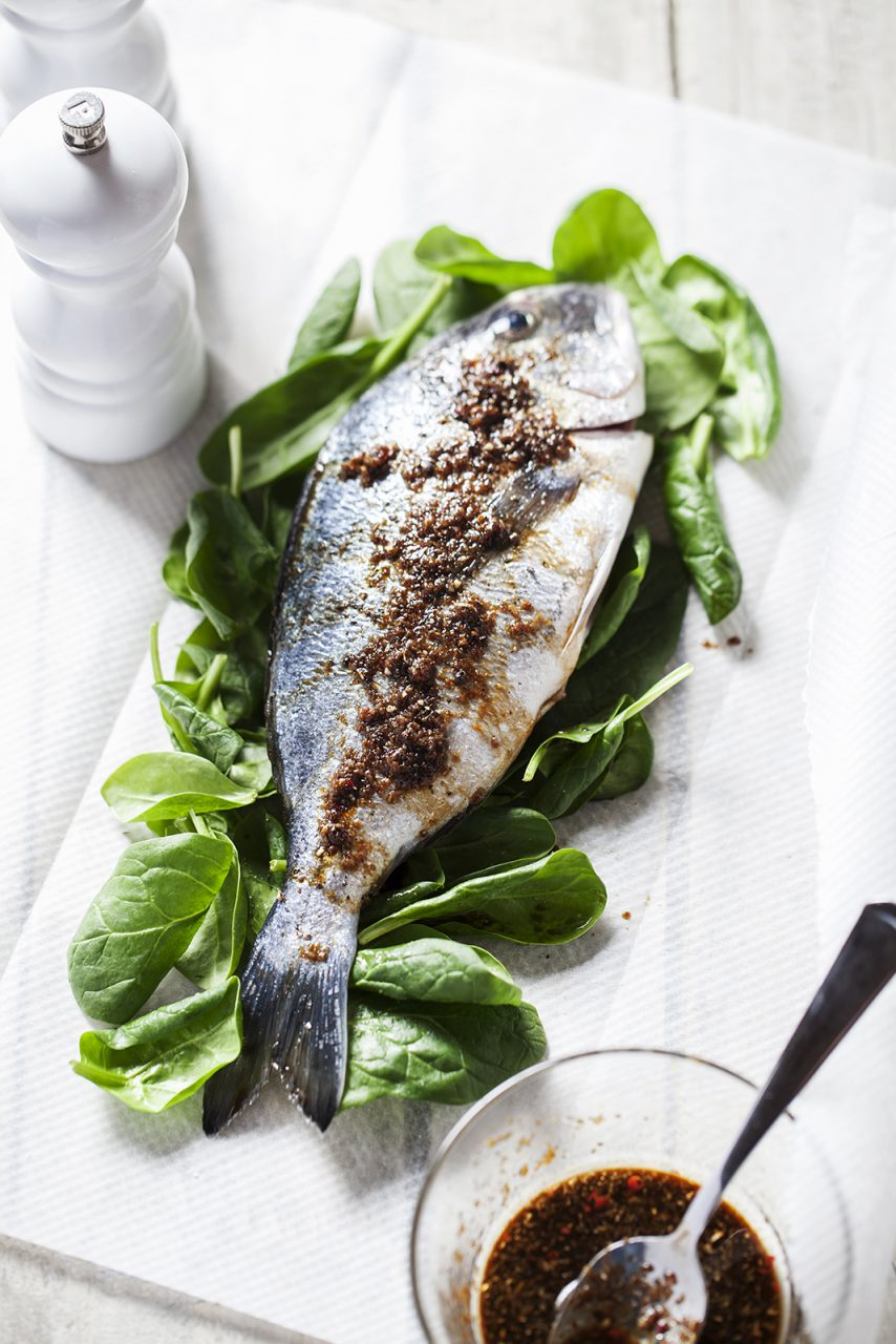 Fish Food Styling by Butter & Basil