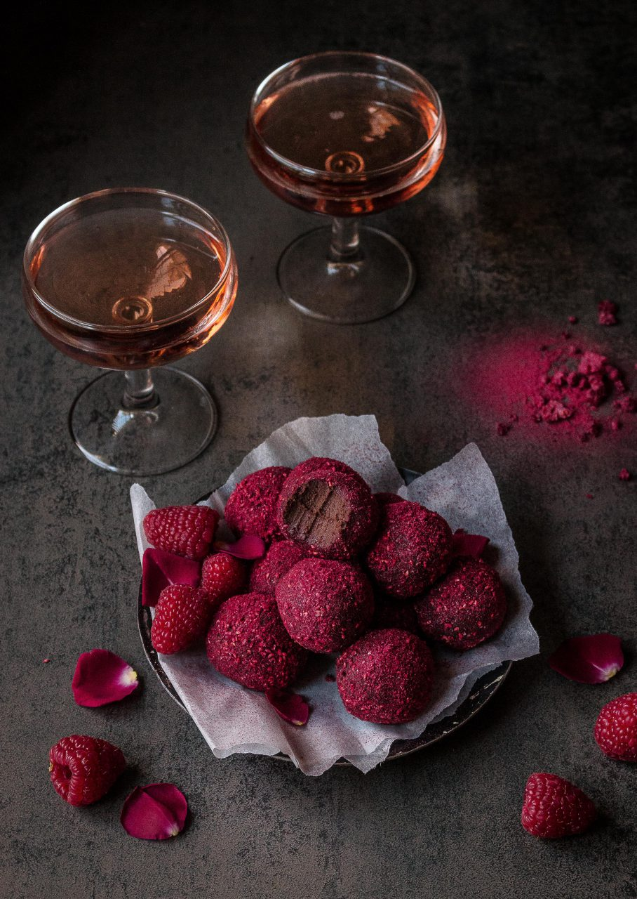 Truffles chocolate food styling by Butter & Basil