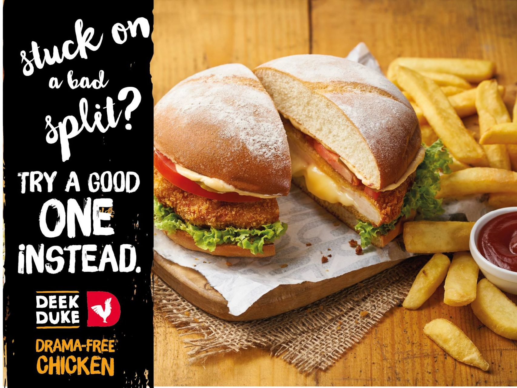Deek duke burger food styling by Butter & Basil
