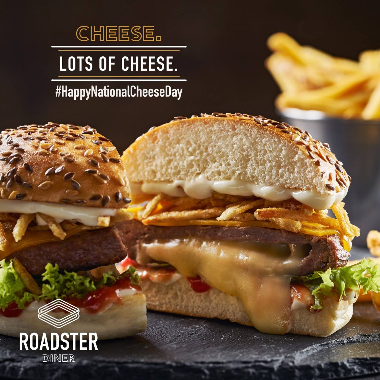 Roadster diner burger food styling by Butter & Basil