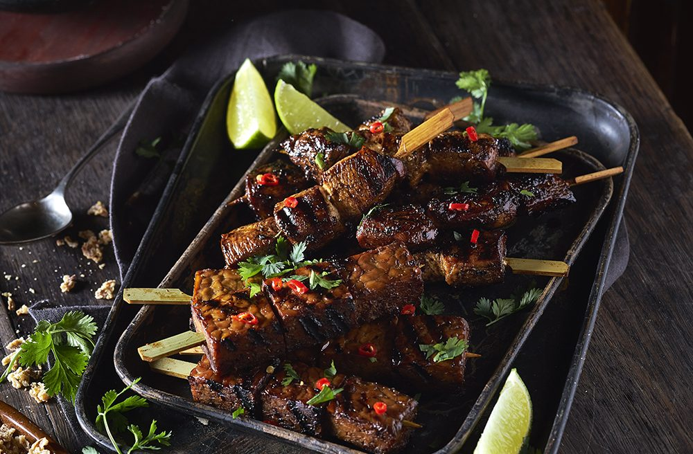 Satay Indonesian food styling by Butter & Basil