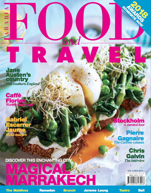 Food and travel cover brunch food styling by Butter & Basil